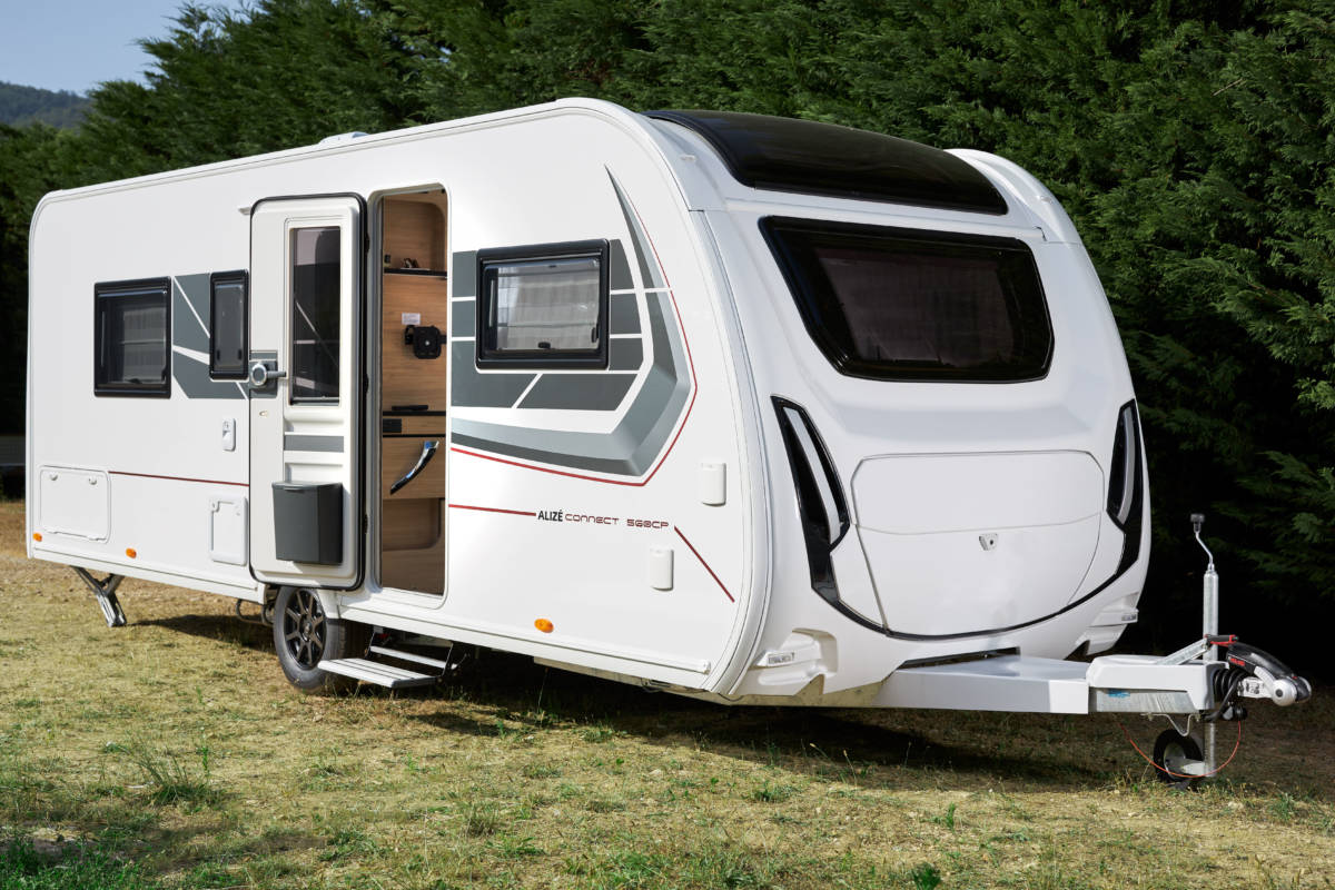 Nieuwe caravans