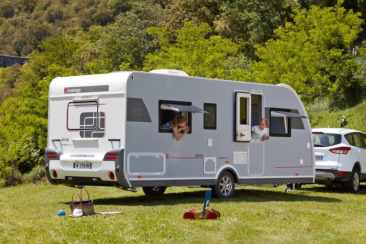 Nieuwe en gebruikte caravans